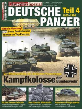 Deutsche Panzer Teil 4. Panzer der Bundeswehr - Stefan Krüger  [Taschenbuch]