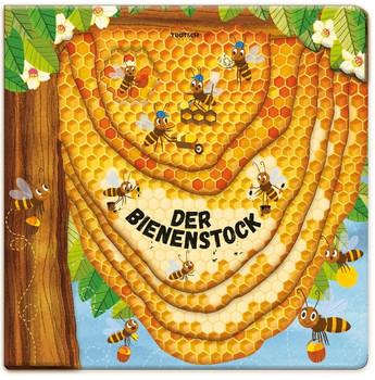 Der Bienenstock. Fensterbuch zum Staunen und Lernen [Gebundene Ausgabe]