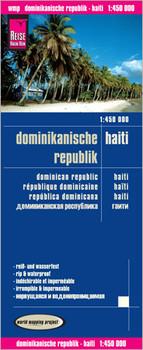 Reise Know-How Landkarte Dominikanische Republik, Haiti (1:450.000): world mapping project - Verlag, Peter Rump