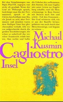 Das wundersame Leben des Joseph Balsamo Graf Cagliostro - Michail A. Kusmin  [Gebundene Ausgabe]