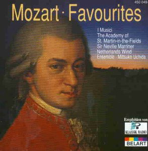 Neville Marriner - Mozart Favourites