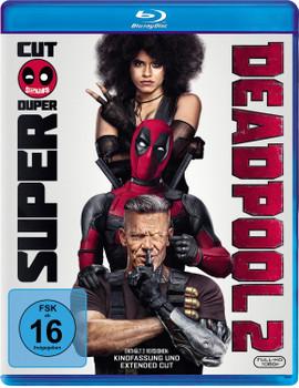 Deadpool 2 [Extended Cut, 2 Discs]
