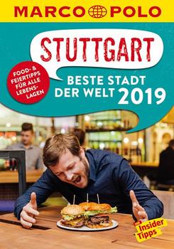 MARCO POLO Beste Stadt der Welt - Stuttgart 2019 (MARCO POLO Cityguides). Mit Insider-Tipps und Stadtviertelkarten - Jens Bey  [Taschenbuch]