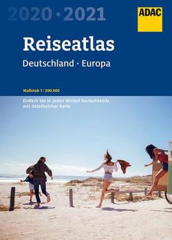 ADAC Reiseatlas Deutschland, Europa 2020/2021 1:200 000 [Taschenbuch]