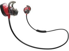 Bose SoundSport Pulse wireless headphones rood