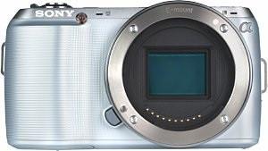 Sony Alpha NEX-C3 Cuerpo plata