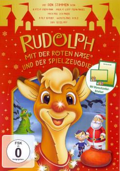 Rudolph mit der Roten Nase und der Spielzeugdieb [inkl. Wunschzettel-Briefset]