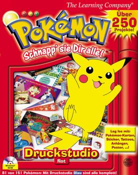 43302df6b931f Pokemon  Schnapp  sie Dir alle! - Printstudio Rot gebraucht kaufen