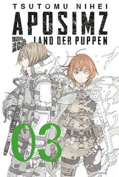 Aposimz - Land der Puppen 3 - Tsutomu Nihei  [Taschenbuch]