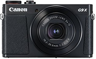 Canon PowerShot G9 X Mark II negro