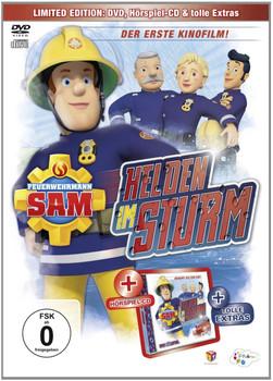 Feuerwehrmann Sam - Helden im Sturm - Kinofilm [inkl. CD-Hörspiel]