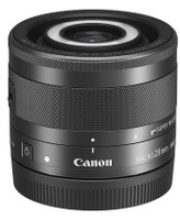 Canon EF-M 28 mm F3.5 IS STM 43 mm Obiettivo (compatible con Canon EF-M) nero