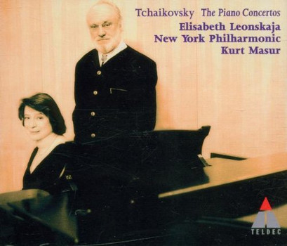 Elisabeth Leonsakja - Tchaikovsky: Klavierkonzerte 1-3 (Gesamtaufnahme)