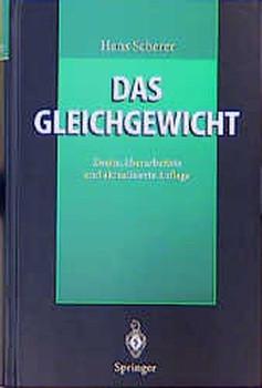 Das Gleichgewicht - Hans Scherer [Gebundene Ausgabe]