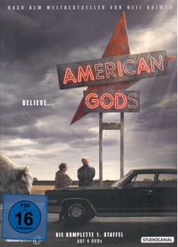 American Gods - Die komplette 1. Staffel [4 DVDs]