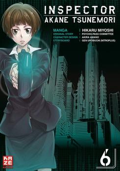 Inspector Akane Tsunemori (Psycho-Pass) 06 - Hikaru Miyoshi  [Taschenbuch]