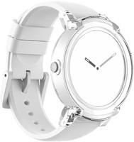 Mobvoi Ticwatch E 44 mm white am Silikonarmband ice [Wi-Fi]