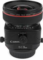 Canon TS-E 24 mm F3.5 L 72 mm Objectif (adapté à Canon EF) noir