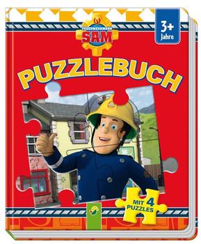 Feuerwehrmann Sam: Puzzlebuch mit 4 Puzzles [Pappbilderbuch]