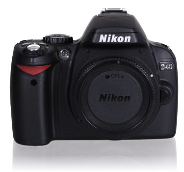 Nikon D40 SLR-Digitale camera noir