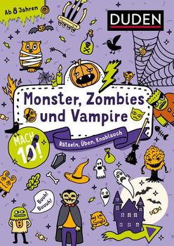 Mach 10! Monster, Zombies und Vampire - Ab 8 Jahren. Rätseln, Üben, Knobeln [Taschenbuch]