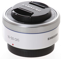 Samsung NX 16-50 mm F3.5-5.6 ED OIS Power Zoom 43 mm Obiettivo (compatible con Samsung NX) bianco