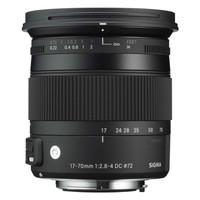 Sigma C 17-70 mm F2.8-4.0 DC HSM OS Macro 72 mm Objetivo (Montura Sigma SA) negro