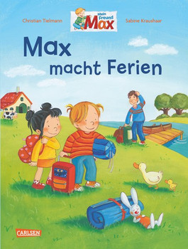 Max-Bilderbücher: Max macht Ferien - Christian Tielmann  [Gebundene Ausgabe]