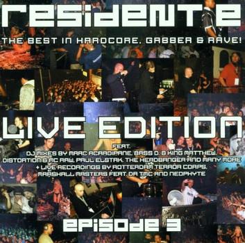 Various - Resident E-Episode III Live ed