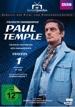 Francis Durbridge: Paul Temple - Staffel 1 [4 Discs]