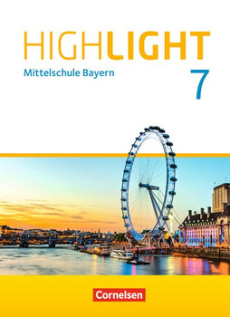 Highlight - Mittelschule Bayern / 7. Jahrgangsstufe - Schülerbuch. Für R-Klassen - Christian Staniczek  [Gebundene Ausgabe]