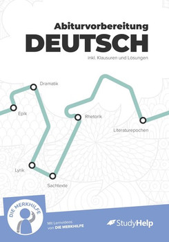 Lernheft Abiturvorbereitung Deutsch. StudyHelp und DIE MERKHILFE - Housein Hakan  [Taschenbuch]