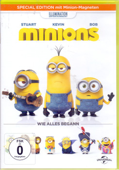 Minions: Wie alles begann [Special Edition, inkl. Minion-Magneten]