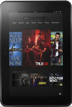 "Amazon Kindle Fire HD 7"" 16 Go [Wi-Fi, modèle 2012] noir"