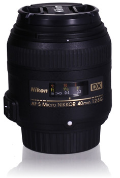 Nikon AF-S DX NIKKOR 40 mm F2.8 G 52 mm Obiettivo (compatible con Nikon F) nero