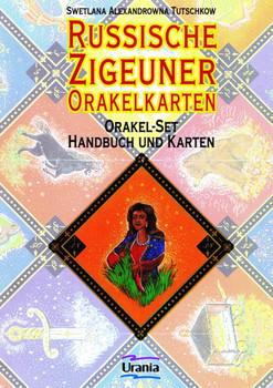 Russische Zigeuner Orakelkarten. Orakel-Set mit 25 Karten und Buch - Swetlana A. Tutschkow