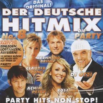 Various - Der Deutsche Hitmix-die Party No.8