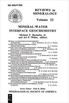 Mineral-Water Interface Geochemistry [Taschenbuch]