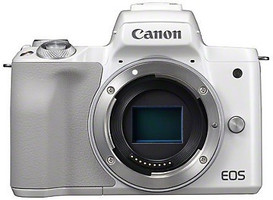 Canon EOS M50 body bianco