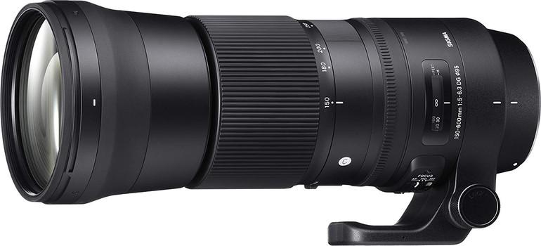 Sigma C 150-600 mm F5.0-6.3 DG HSM OS 95 mm filter (geschikt voor Nikon F) zwart