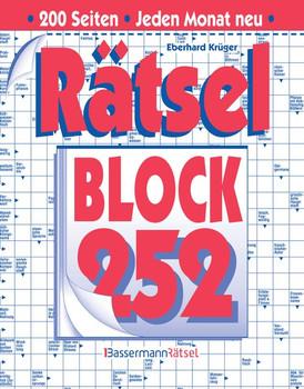 Rätselblock 252 - Eberhard Krüger  [Taschenbuch]