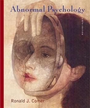 Abnormal Psychology - Ronald J. Comer [Hardcover]