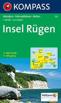 Kompass Karten: Insel Rügen - Wandern/Rad