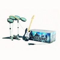 Pack Rock Band [Sin juego - incluye guitarra, batería, micrófono y cable USB]