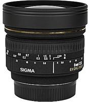 Sigma 8 mm F3.5 DG EX Circular-Fisheye (Montura Canon EF) negro