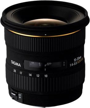 Sigma 10-20 mm F4.0-5.6 DC EX 77 mm Objectif (adapté à Sony A-mount) noir