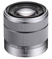 Sony E 18-55 mm F3.5-5.6 OSS 49 mm filter (geschikt voor Sony E-mount) zilver