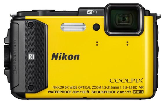 Nikon COOLPIX AW130 geel