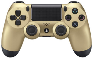 Sony PS4 DualShock 4 controller wireless oro