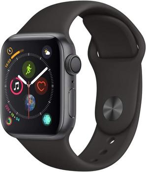 Apple Watch Series 4 40mm caja de aluminio en gris espacial y correa deportiva negra [Wifi]